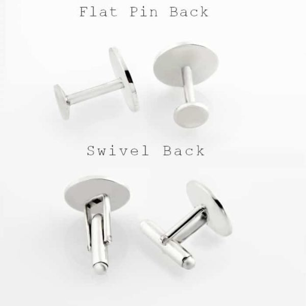 Flat Pin And Swivel Back