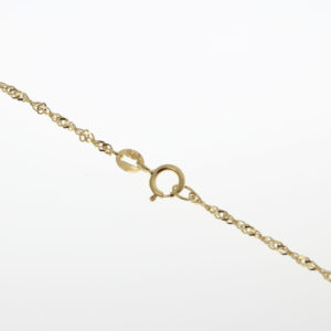 9ct Gold Twist Necklace
