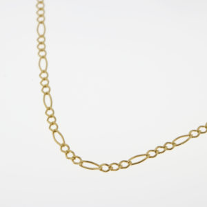 9ct Gold Figaro Necklace
