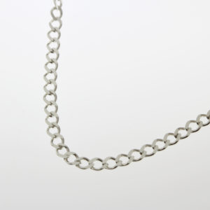 Diamond Curb Necklace