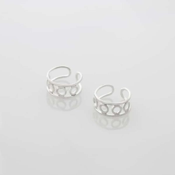 Open Circle Ear Cuffs