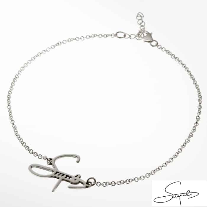 Signature Name Anklet