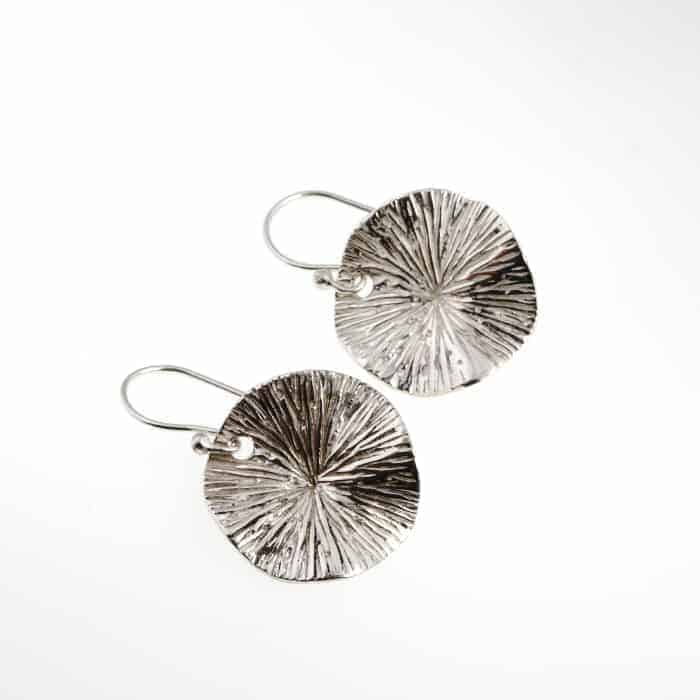 Water Lily Dangle Earrings