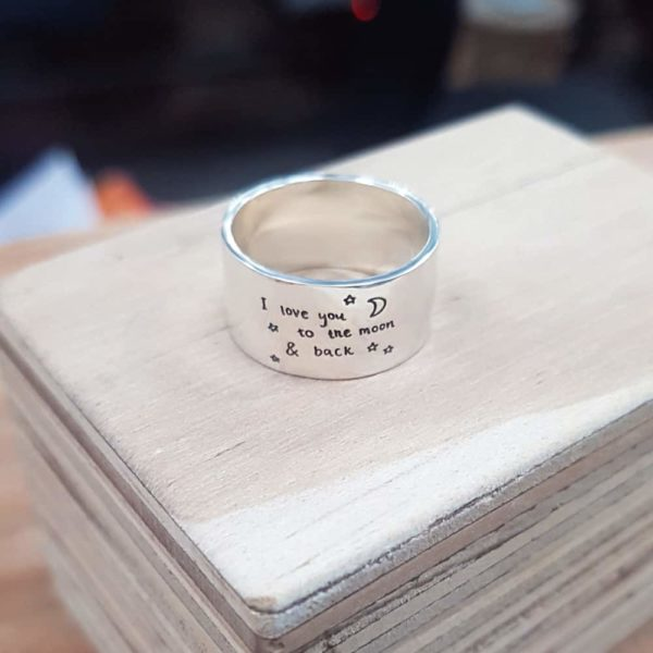 Handwritten Story Ring