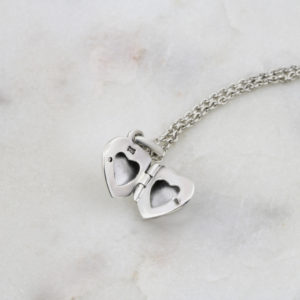 Engraved Heart Locket 2