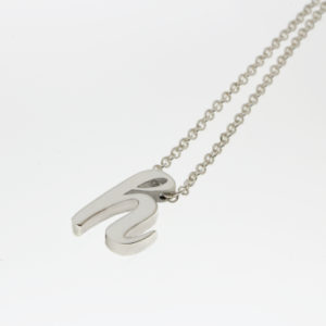 Initial Slider Necklace