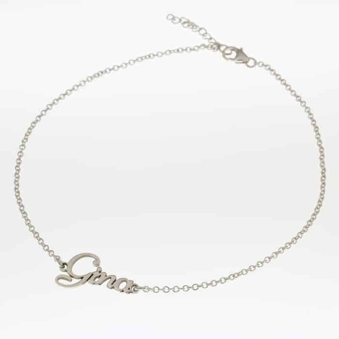 Dainty Name Anklet
