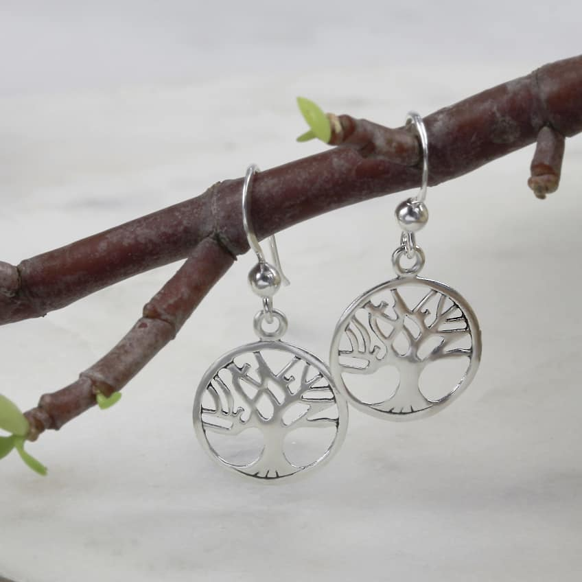 Tree Of Life Dangle Earrings