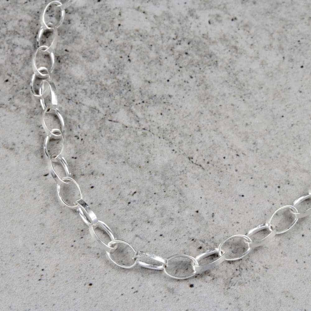 Oval Hoop Necklace