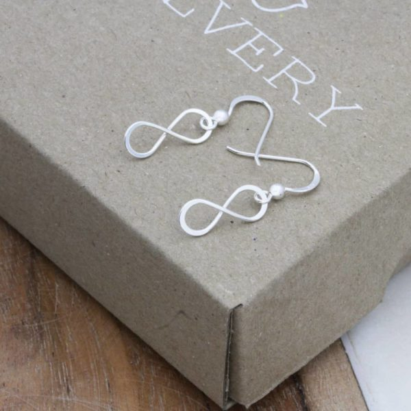 Infinity Dangle Earrings