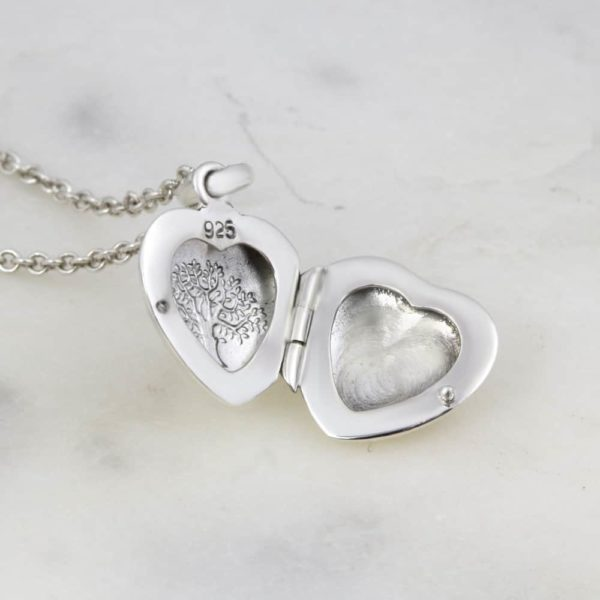 Tree Of Life Heart Locket Necklace1