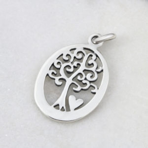 Tree Of Life Oval Pendant