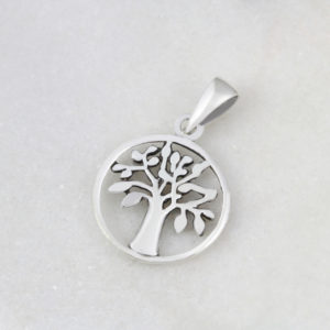 Tree Of Life Round Pendant