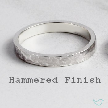Hammered Metal Finish