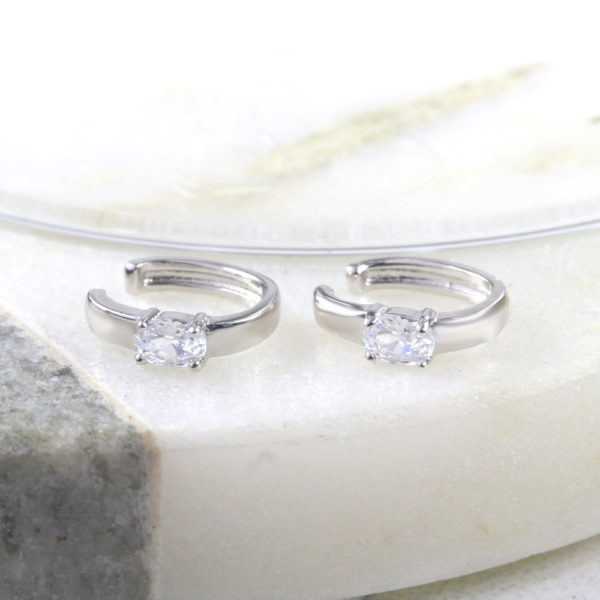 Cubic Zirconia Ear Cuffs