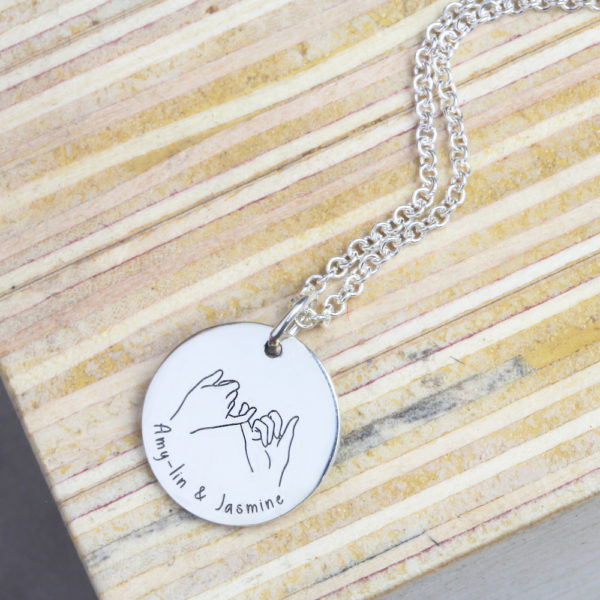 Pinky Promise Necklace
