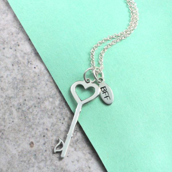 Tag & Key Necklace