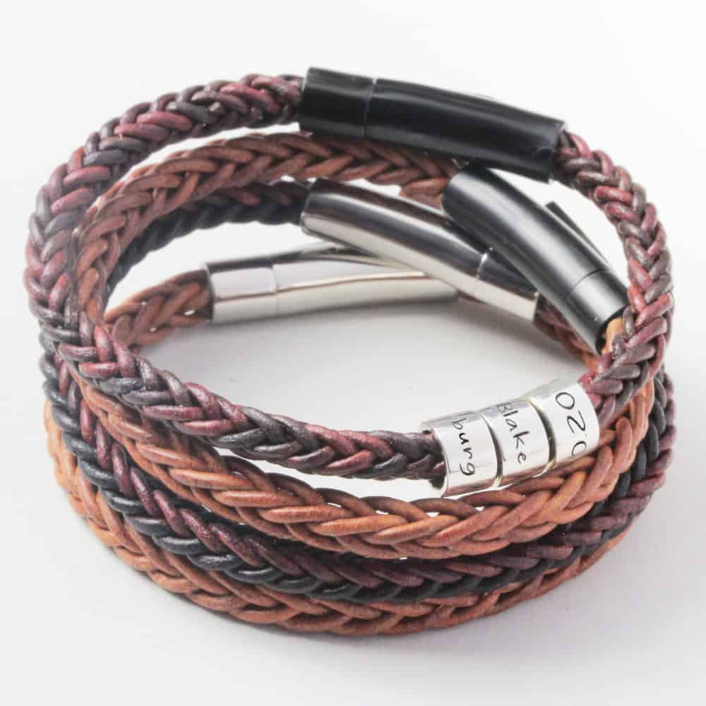 Mens Leather Bracelets and bangles in south africa