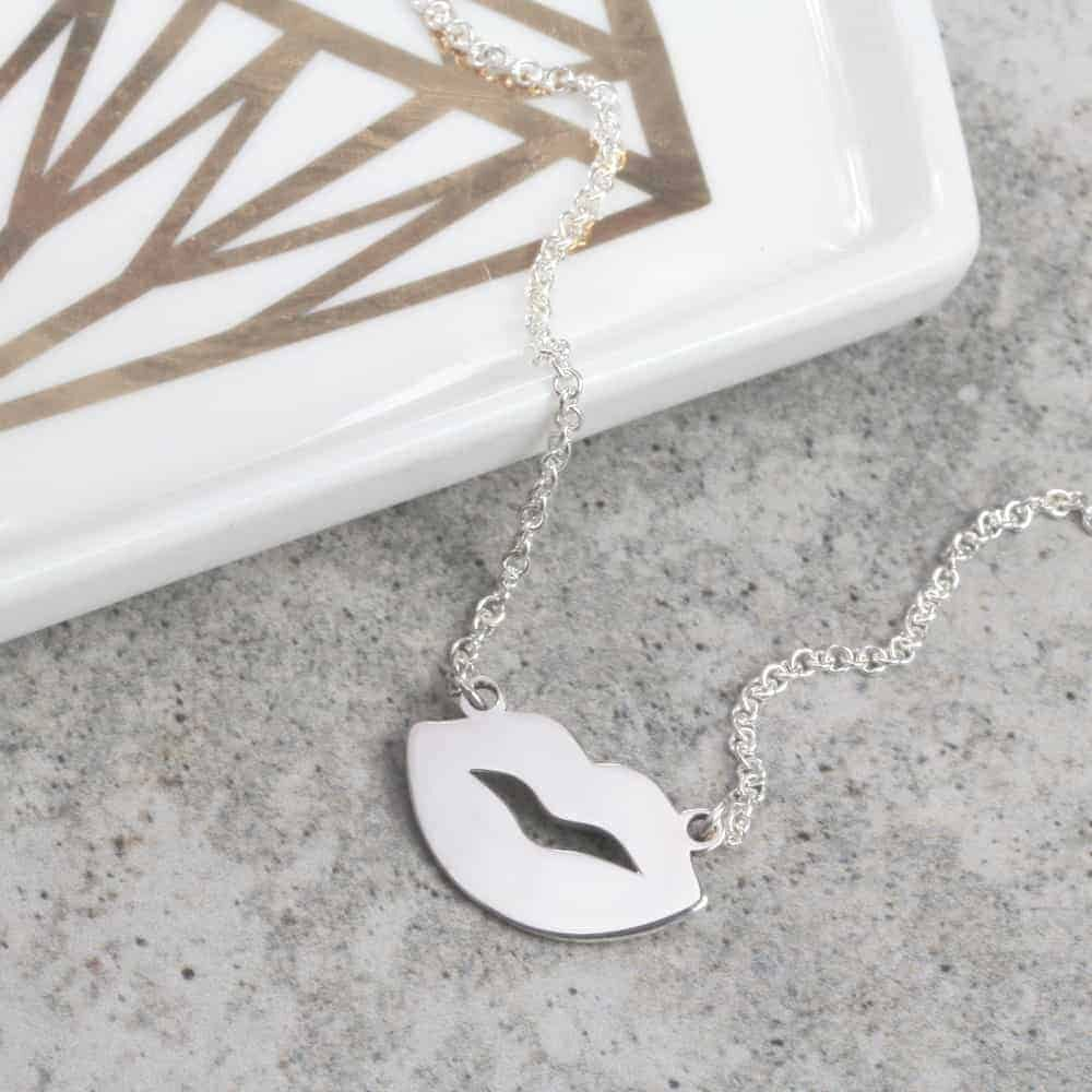 Sealed With A Kiss Necklace
