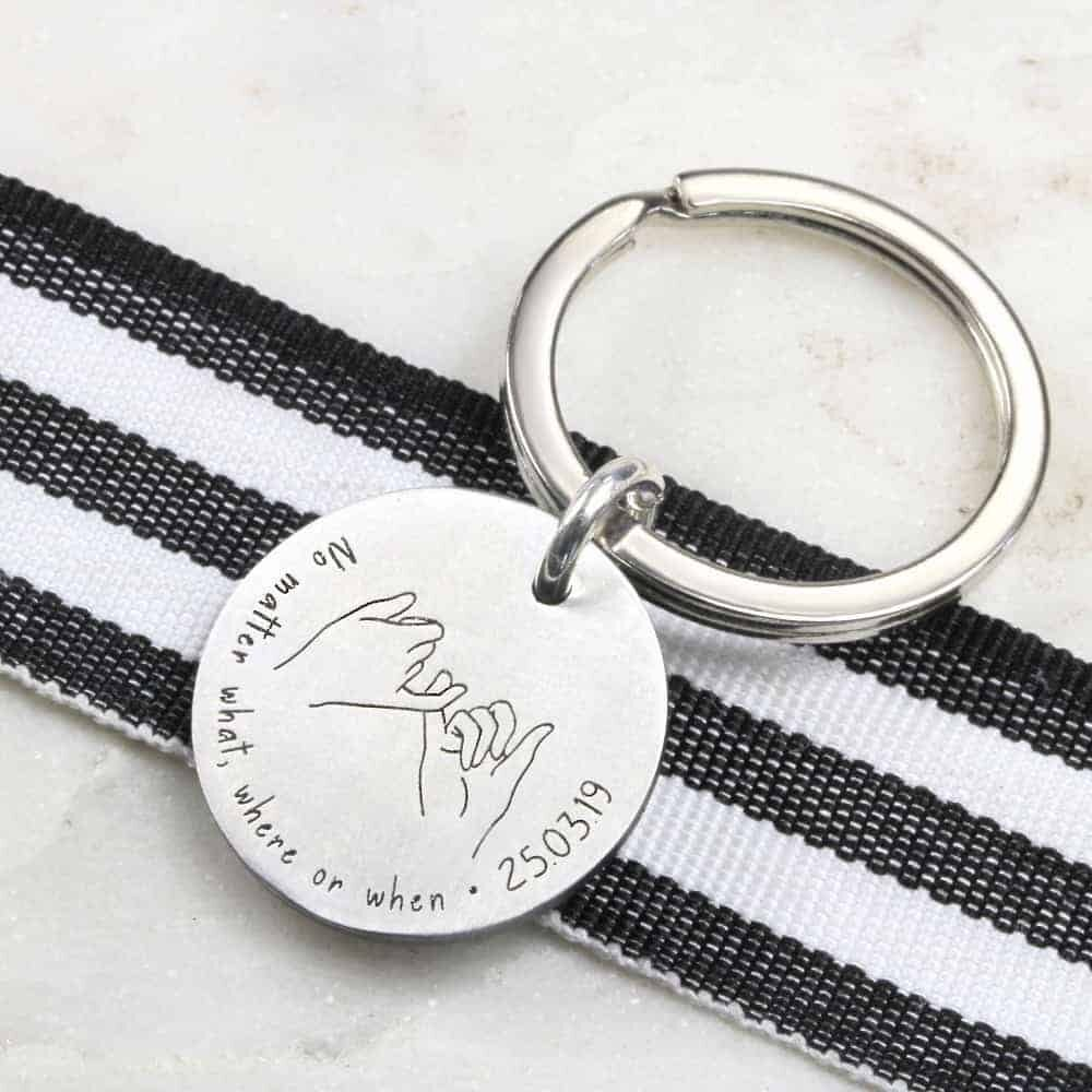Pinky Promise Key Ring