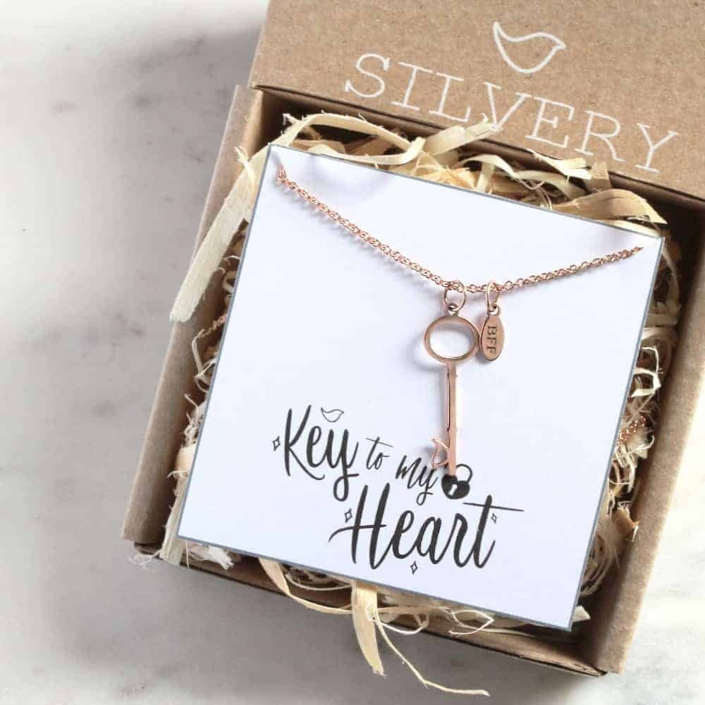 Tag & Key Necklace in Box