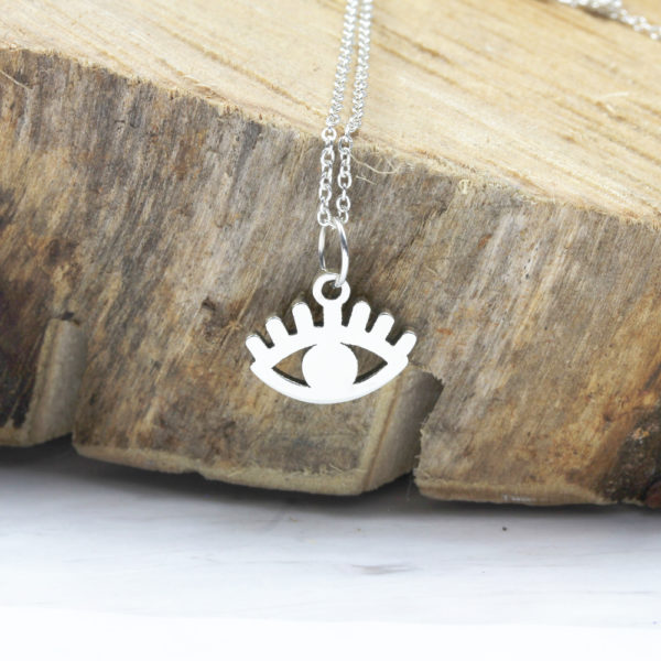 925 Sterling Silver Evil Eye Necklace