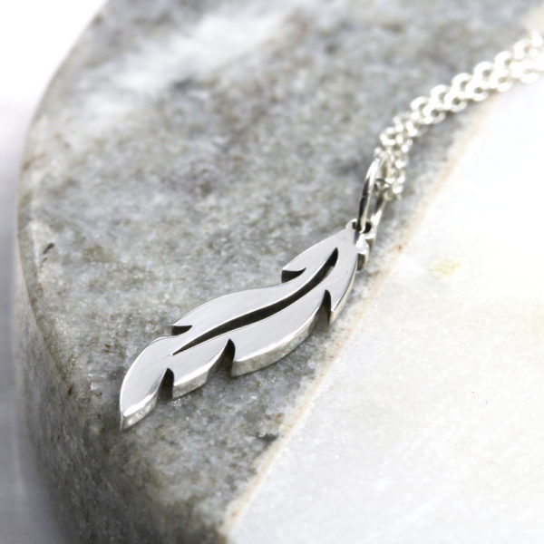 Feather Necklace Silvery Jewellery South Africa
