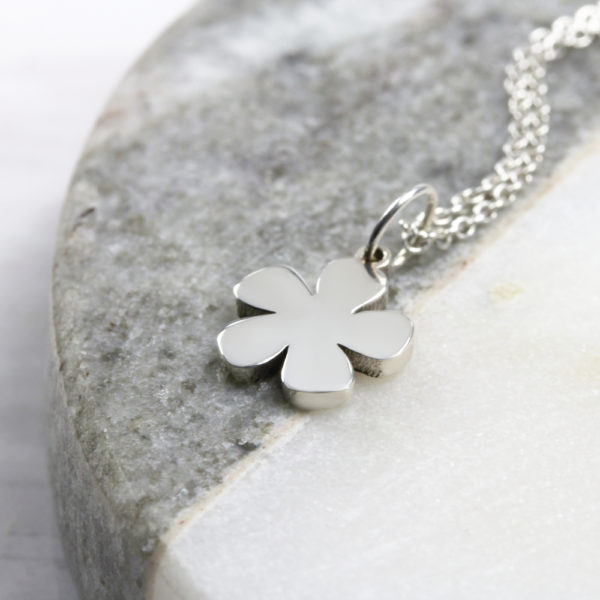 Flower Neklace Silvery Jewellery South Africa