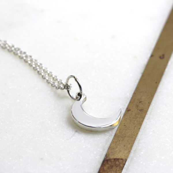 Moon Necklace Silvery Jewellery South Africa (2)