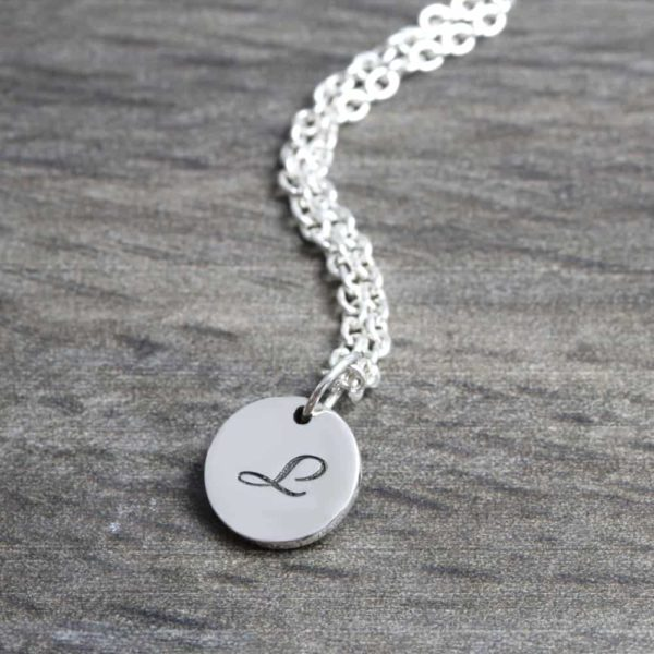 925 Sterling Silver 10mm Coin Necklace