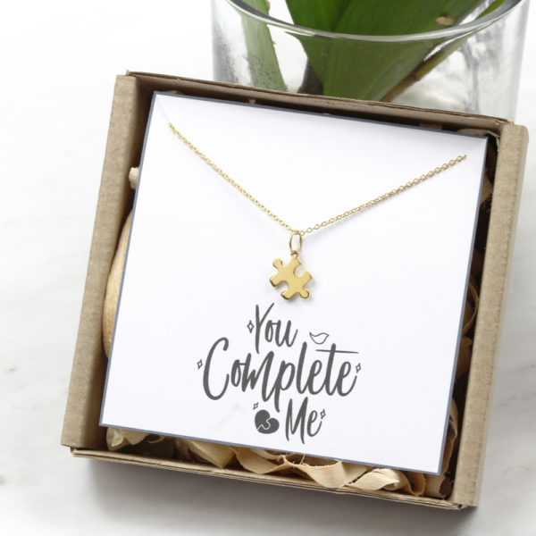 Puzzle Piece Necklace Silvery Jewellery South Africa.JPG