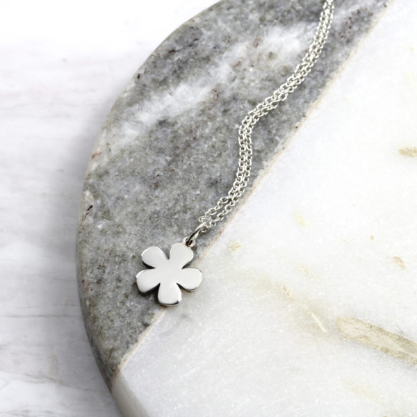 Small Flower Neklace Silvery Jewellery South Africa