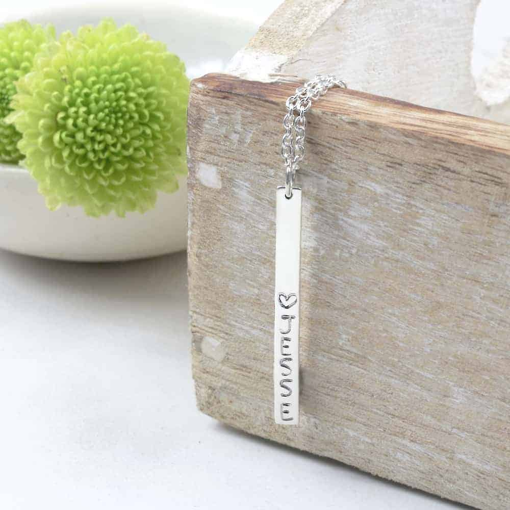 Vertical Bar Necklace South Africa