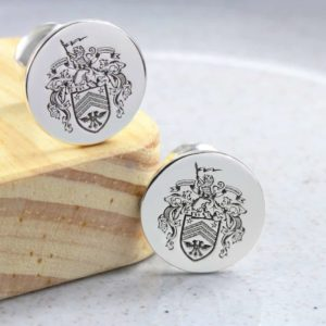 Personalised Cufflinks for Men by silvery jewellery in south africa