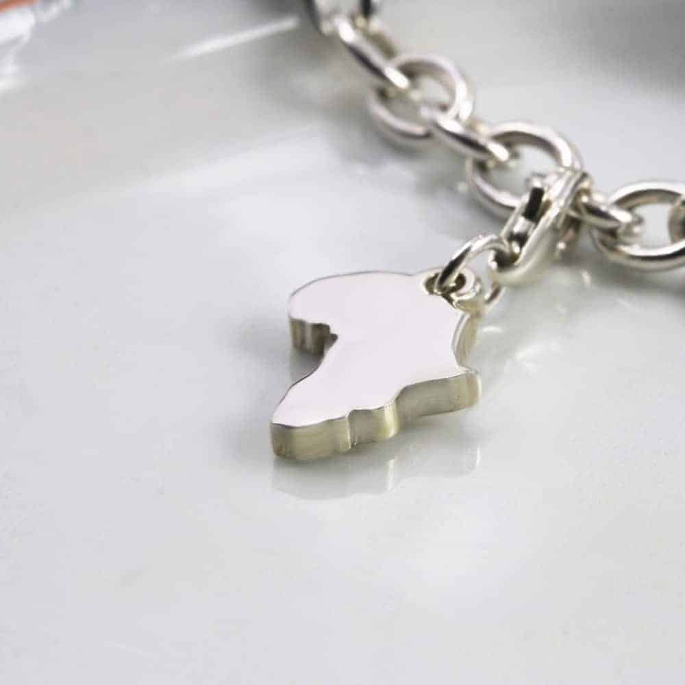 Africa Collection Charm Silver charms personalised charms by silvery south africa