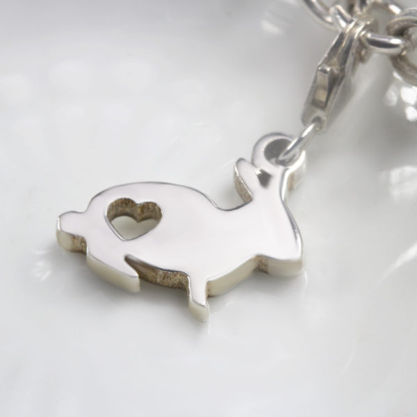 Bunny Charm Silver charms for bracelets by silvery south africa