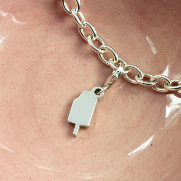 Ice Cream Charm Silver charms personalised charms by silvery south africa