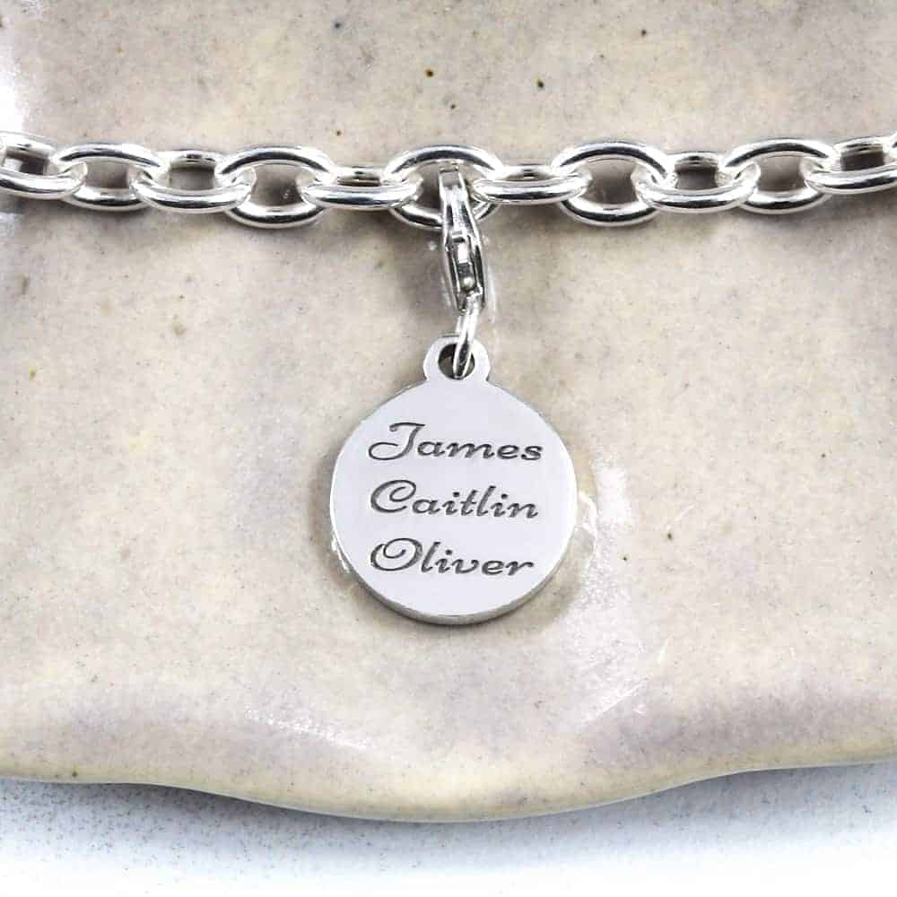family tree Charm family name charms personalised charms by silvery south africa