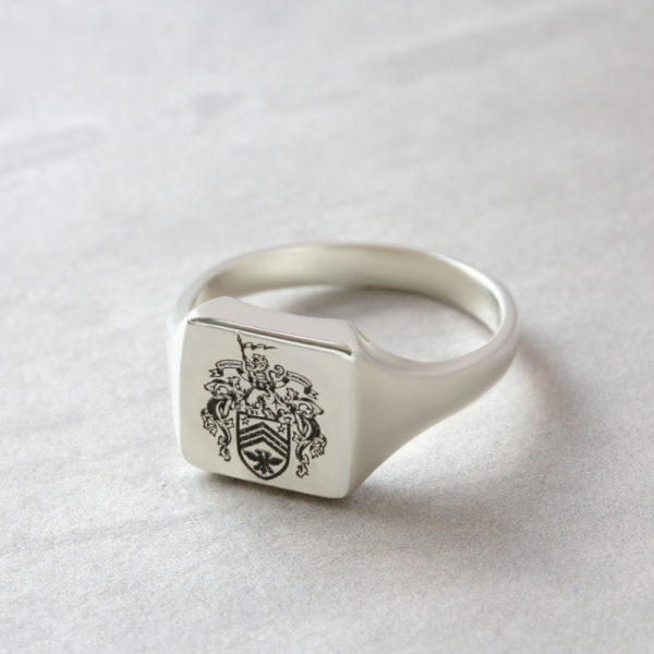 solid mens family crest signet ring by silvery jewellery for men.JPG